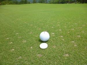 天然白大理石 ● ゴルフマーカー ボールマーカー ● 2個セット