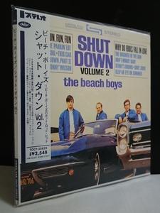 【新品 紙ジャケ◆SEALED】■ザ ビーチ ボーイズ シャット ダウン vol.2 The Beach Boys Shut Down Volume 2■TOCP-50853◆PS Unopened