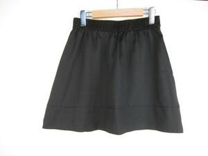 レイビームス Ray BEAMS スカート ミニ フレアー 0 黒 C944