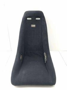 ^ tube w3107-1108 that time thing rare CMR check man racing full bucket seat black black full backet Recaro bride old car (22)