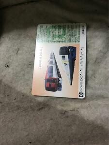 イオカード255系253系特急成田エクスプレス房総ビューJR東日本使用済み