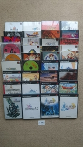 PS PS2 PlayStation 2 プレステ 2 ソフト 36枚セット RPG ゲーム FF ドラクエ テイルズ チョコボ サモンナイト 中古