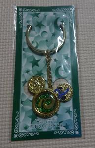 非売品 ディズニーシー ミラコスタ 10周年記念 緑 クリスマス 2011 ワインメダル ワインマーカー ディズニーホテル キーホルダー
