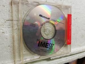 Microsoft IME 97 Upgrade Designed for Windows 95 マイクロソフト 日本語入力システム  同梱包可能 多分未開封