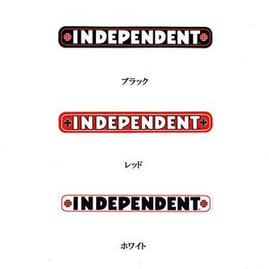 NEW INDEPENDENT インディペンデント バー & クロス ステッカー 赤/SK32 スケート スケボー ■