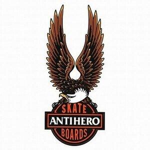 NEW ANTI HERO nothing free アンタイ ヒーローステッカー 中/KA2308 スケート スケボー ■