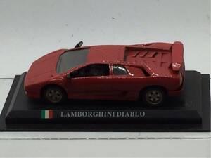 ミニカー 世界の名車シリーズ 1/43 美品 ランボルギーニ ディアブロ