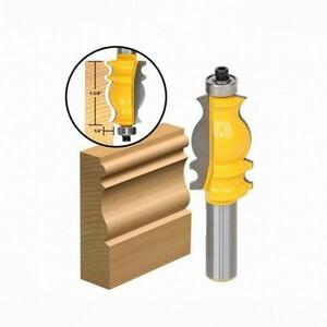 新品◆木工 ルータービット 1/2インチ 面取り モールディング 額縁作り◆B