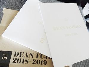 ディーンフジオカ フォトブック 3冊セット vol.1 2 3 DEAN FUJIOKA 2018-2019 deanfujioka 未使用