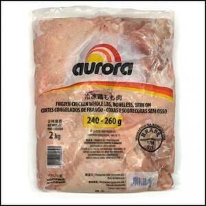 ★【鶏-B】BR鶏もも240/260 2kg/pc \1190(\595/kg)煮込み水炊き茶わん蒸しカレー照り焼き唐揚げ鶏天焼き鳥チキンカツステーキ