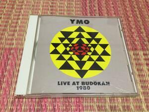 ◆YMO LIVE AT BUDOKAN 1980 CD アルバム イエローマジックオーケストラ ライヴ・アット・武道館 1980 坂本龍一 細野晴臣 高橋幸宏 即決