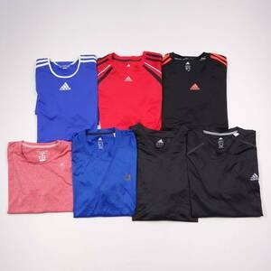 アディダス チャンピオン Tシャツ 半袖 メンズ ドライTシャツ 卸売り 仕入れ セット販売 まとめ売り USA輸入 古着 MWS-0017