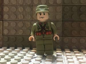 10体 ☆ カスタム ミニフィグ ☆ レゴ LEGO サイズ ☆ 太平洋戦争 日本軍兵士 Japan Military Army Soldiers ☆ (武器付) ☆ 新品