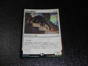 FOIL/典雅な襲撃者/Adorned Pouncer/破滅の刻/日本語版/MTG1枚