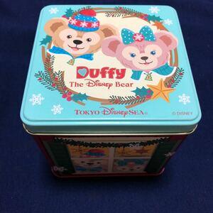 東京ディズニーシー ダッフィー&シェリーメイ クリスマス 空き缶