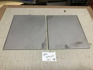 460★sus304 NO.1 ステンレス切板 端材100×120 3mm 2枚