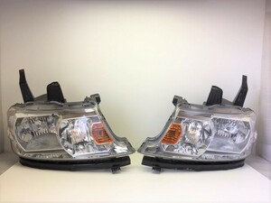 15594◇RF7 ステップワゴン スパーダ 純正 左右ヘッドランプ/左右ヘッドライト STANLEY P4063◇