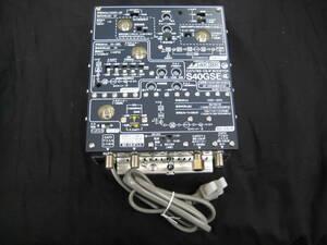 即決 未使用品 日本アンテナ CATV/BS/CS-IF ブースター S40GSE 4K 8K 対応 ①