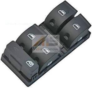 【M's】アウディ A4 (2005y-2008y) パワーウィンドースイッチ (運転席側用)//純正OEM品 AUDI 8E0-959-851D-5PR 8E0959851D5PR
