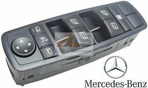 【M's】W251 Rクラス・W164 Mクラス/純正 パワーウィンドースイッチ(運転席側)//正規品 ベンツ R500 R550 R63 ML350 ML550 ML63 R350