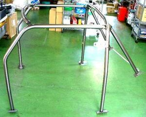 new goods Rover Mini for aluminium 6 point type roll bar