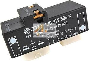 【M's】VW ポロ(6N)/ルポ(6E/6X)/ニュービートル(9C/1Y)電動ファンコントロールユニット//純正OEM リレーユニット 1J0-919-506K