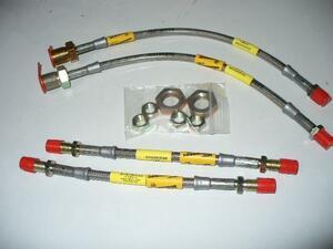new goods Rover Mini for stainless steel mesh brake hose Sgdo ridge made SAH0706-4P