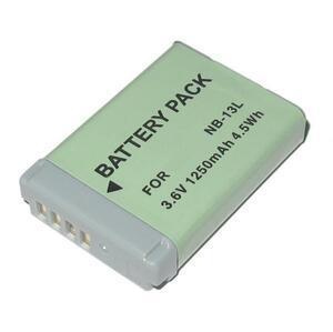 キャノン NB-13L バッテリー 互換品 パワーショット PowerShot SX740 HS / G5 X 用充電池