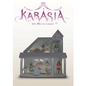 7◆即決!送料無料!◆新品・未開封!◆ KARA 1st JAPAN TOUR 2012 KARASIA DVD初回盤 ギュリ スンヨン ハラ ニコル ジヨン 知英 JY