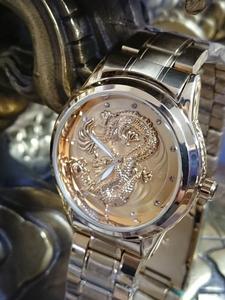 ゴールド 竜 腕時計 レターパック