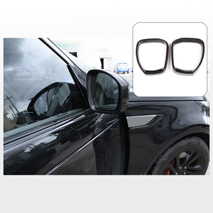 Land Rover Discovery 4 carbon te The inside door mirror decoration trim - Land Rover Discovery custom parts