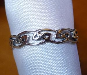 SR1748 Ring Silver 925 Ring Ring 28 Keltic Celt Free Shipping
