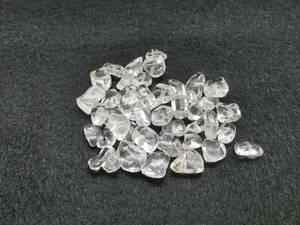 天然石パワーストーン クリア水晶(クリスタル) さざれ石 穴有り 10g売り アクセサリー材料、DIYハンドメイドパーツ
