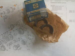 new goods BLMC Mini *2nd gear for * roller needle bearing * original part 88G495 Britain that time thing / Rover Mini /BMC Mini /ADO16/ Austin / minivan