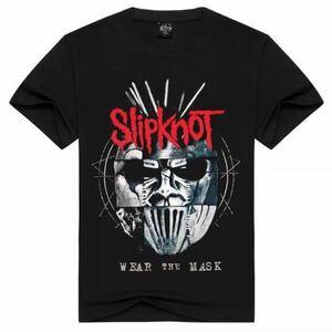 SLIPKNOT バンドTシャツ バンT スリップノット 半袖Tシャツ Tee 2