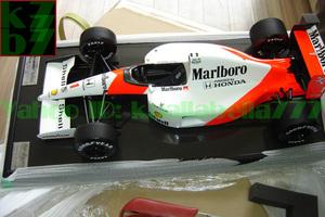 【玩具模型】AMALGAM MCLAREN MP4-6 AYRTON SENNA F1 JAPANESE GRAND PRIX 1991 アマルガムマクラーレン合金模型車ミニカー1:8スケール S53