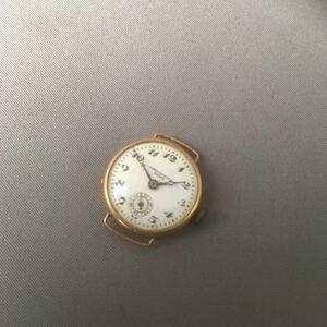K88 ZENIS Zenith Chrono измерительный прибор часы 18Ksmoseko Швейцария античный утиль Gold