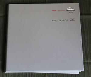 旧車カタログ ニッサンフェアレディZ 2002年版 オプションパーツカタログ付 新品新品