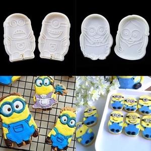 ミニオン クッキー型 4種セット