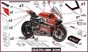 ドゥカティ パニガーレ 2015 SBK ステッカー デカール 1299 1199 899 ワールトスーパーバイク