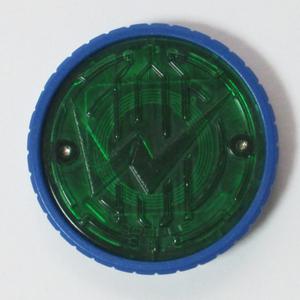 SG Wオーメダル ( サイクロンジョーカー )/ 仮面ライダーオーズ / ダブル W ライダーメダル オーメダル オーズメダル 食玩版