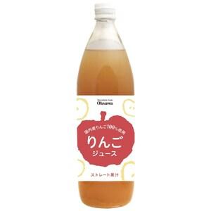 りんごジュース(ビン) 【900mlX6本 オーサワジャパン株式会社 0228】【配送ゆうパック】