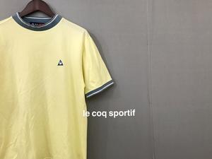 ◎▽ ルコック le coq sportif ルコックスポルティフ 半袖 ゴルフウェアー メンズ Mサイズ 大きめ