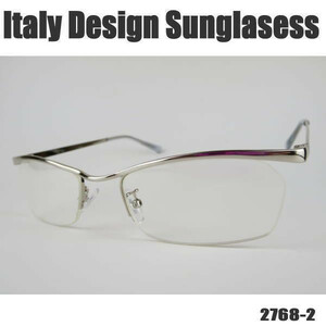 < famous person . is ma.>ITALY DESIGN:2768-2* clear *UV cut *F: silver * man and woman use!!