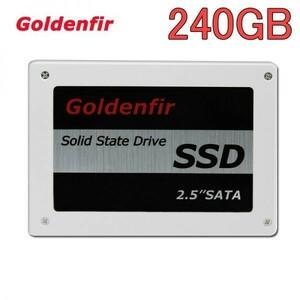 ★最安 安心の国内対応★SSD Goldenfir 240GB SATA3 / 6.0Gbps 新品 2.5インチ 高速 NAND TLC 内蔵 デスクトップPC ノートパソコン