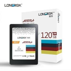 ★最安 安心の国内対応★SSD LONDISK 120GB SATA3 / 6.0Gbps ケーブル付き 新品未開封 2.5インチ 3D NAND TLC 内蔵型