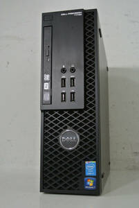 DELL Precision T1700 SFF Core i7-4770(Haswell)3.40GHz/8GB/新品SSD256GB/Quadro NVS510+HD Graphics 4600/win10/Office/中古美品※9969T