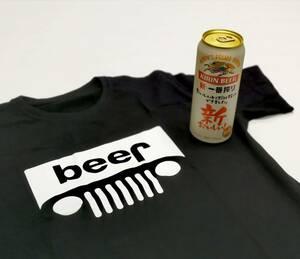 BEER JEEP ビール ジープ シャツ アウトドア フェス キャンプ インスタ GO OUT