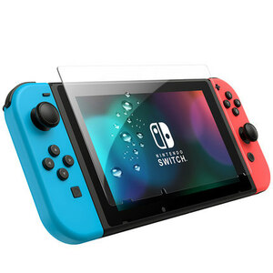 Nintendo Switch Liteガラスフィルム2019任天堂ニンテンドー Lite 液晶保護フィルム0.25D日本製素材旭硝子製9H高硬度98%高透過率 気泡ゼロ