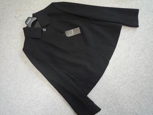 大きいサイズ 新品 マッキントッシュロンドン ステンカラージャケット 44 黑 67100円